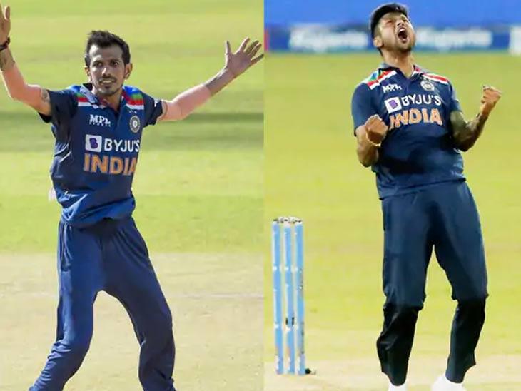 चहल आणि गौतम कोरोना पॉझिटिव्ह; कृणाल पांड्याच्या संपर्कात आले होते, भारतात परतणार नाहीत श्रीलंका दौऱ्यावर संक्रमित खेळाडू|क्रिकेट,Cricket - Divya Marathi