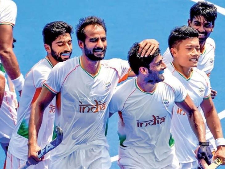भारताचा 125 वर्षांत गत चॅम्पियनविरुद्ध दुसरा विजय; भारताची अर्जेंटिनावर 3-1 ने मात; विजयासह उपांत्यपूर्व फेरी गाठली; आज जपानशी लढत स्पोर्ट्स,Sports - Divya Marathi