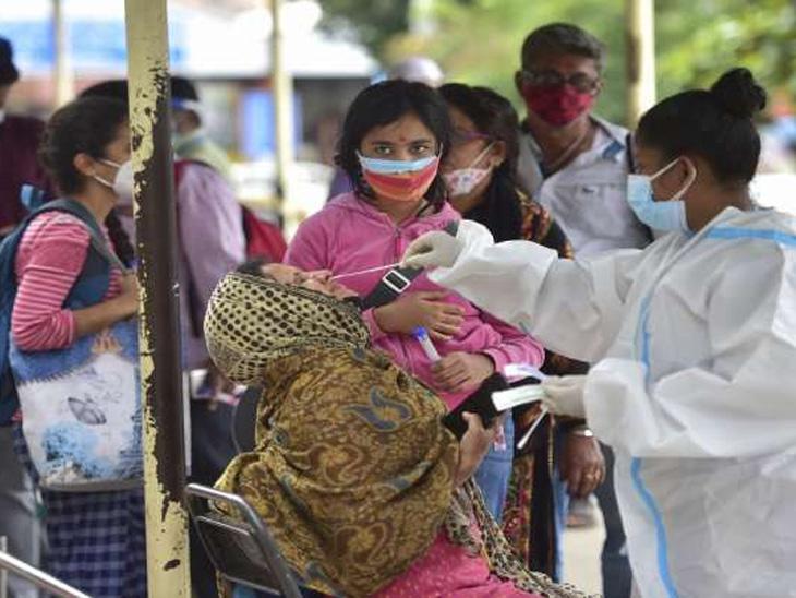 मागील 24 तासात आढळून आले 41495 नवीन रुग्ण, 37306 बरे झाले, सक्रिय रुग्ण 4 दिवसानंतर पुन्हा 4 लाखांच्या पुढे देश,National - Divya Marathi