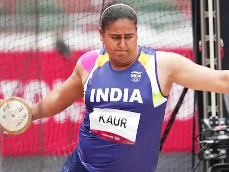 टोकियो ऑलिम्पिक थाळीफेकमध्ये पदकापासून वंचित राहिली कमलप्रीत; अंतिम फेरीत सहाव्या स्थानावर|स्पोर्ट्स,Sports - Divya Marathi