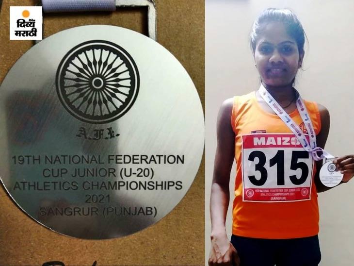राष्ट्रीय फेडरेशन कपमध्ये रिंकू पावराने पटकावले दुसरे क्रमांक, 3 हजार मीटर धावण्याच्या शर्यतीत केला विक्रम स्पोर्ट्स,Sports - Divya Marathi
