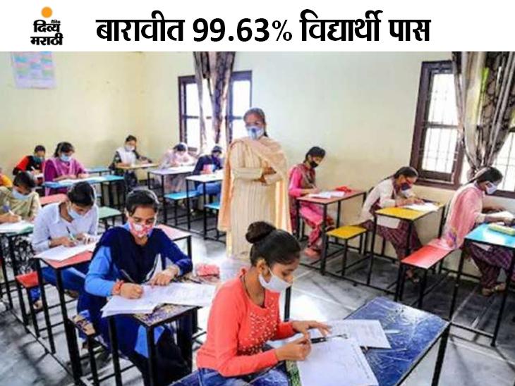 HSC बोर्डाच्या बारावीचा निकाल जारी; 99.63% विद्यार्थी झाले उत्तीर्ण, कला विभागाचा निकाल सर्वाधिक 99.83%; कोकण अव्वल|पुणे,Pune - Divya Marathi