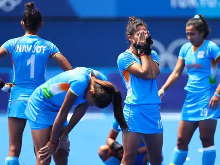 भारतीय महिला संघाने ऑलिम्पिकमध्ये प्रथमच कांस्यपदकासाठी स्पर्धा केली. 1980 पासून महिला हॉकीचा ऑलिम्पिकमध्ये समावेश होता.