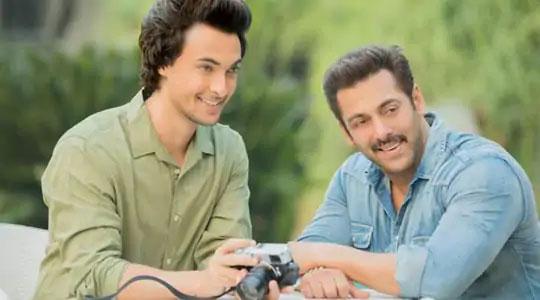 आयुष शर्मा आणि सलमान खान.
