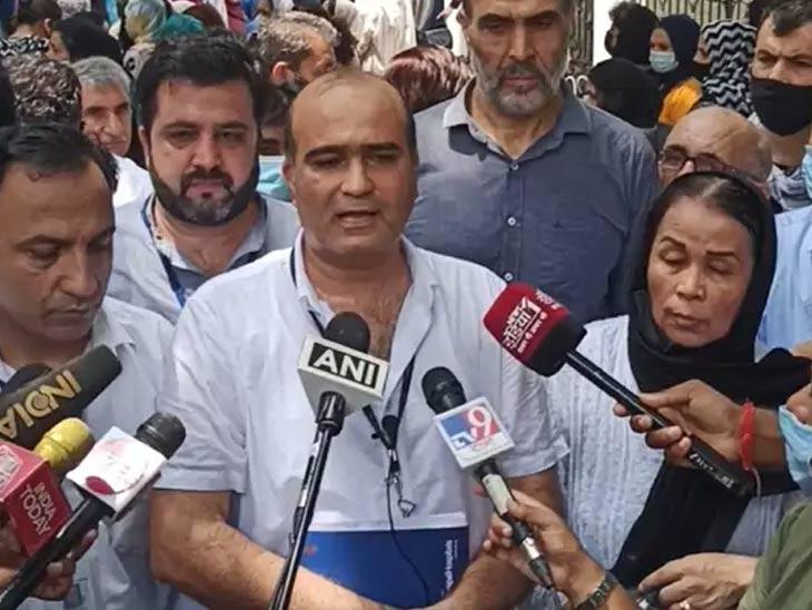 अफगाणिस्तान शरणार्थी संघटनेचे (भारत) प्रमुख अहमद झिया गनी या आंदोलनाचे नेतृत्व करत आहेत.