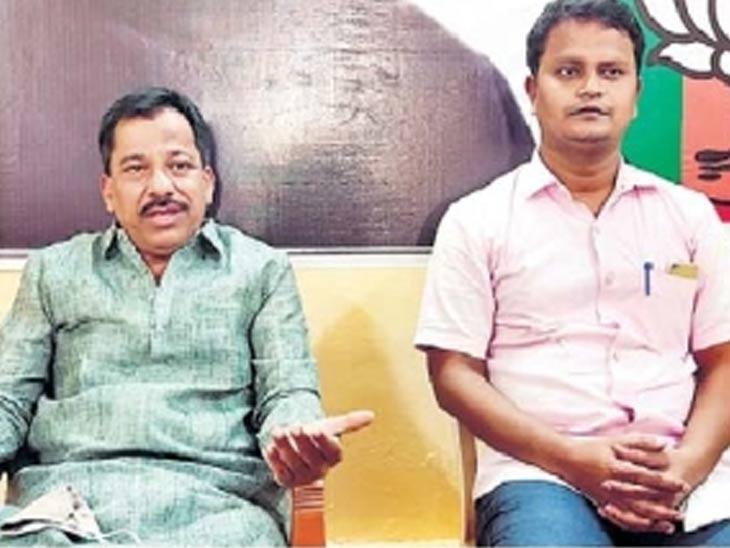 भाजप नेते राजन तेली यांनी बुधवारी पत्रकार परिषदेत माहिती दिली. - Divya Marathi