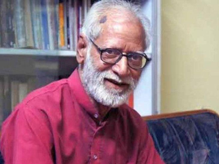 काशीनाथ सिंह, साहित्यिक आणि बीएचयूचे निवृत्त प्राध्यापक - Divya Marathi