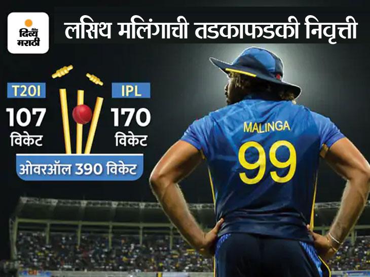 क्रिकेटच्या सर्वात लहान फॉरमॅटमध्ये 390 विकेट्स घेणारा श्रीलंकेचा वेगवान गोलंदाज, आयपीएलमध्ये नंबर-1 गोलंदाज|क्रिकेट,Cricket - Divya Marathi
