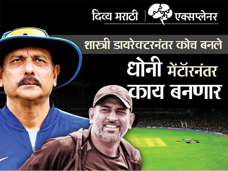 शास्त्री कोच आहे तोपर्यंत मेंटॉर धोनीची भूमिका फक्त सल्लागाराची, विश्वचषकानंतर कॅप्टन कूल टीम इंडियाचा प्रशिक्षक होऊ शकतो का?|ओरिजनल,DvM Originals - Divya Marathi