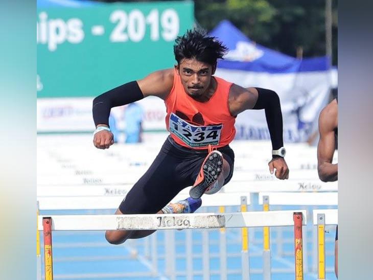 60 व्या राष्ट्रीय ओपन अॅथलेटिक्स स्पर्धेत सुवर्णपदक; 19 वर्षीय तेजसने पदार्पणात पटकावले सीनियर गटात सुवर्णपदक|स्पोर्ट्स,Sports - Divya Marathi