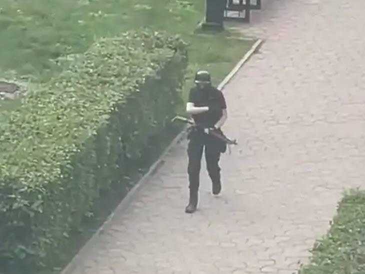 पर्म विद्यापीठातील विद्यार्थ्याने सहकाऱ्यांवर केला गोळीबार, 8 ठार; जीव वाचवण्यासाठी विद्यार्थ्यांनी खिडकीतून मारली उडी|विदेश,International - Divya Marathi