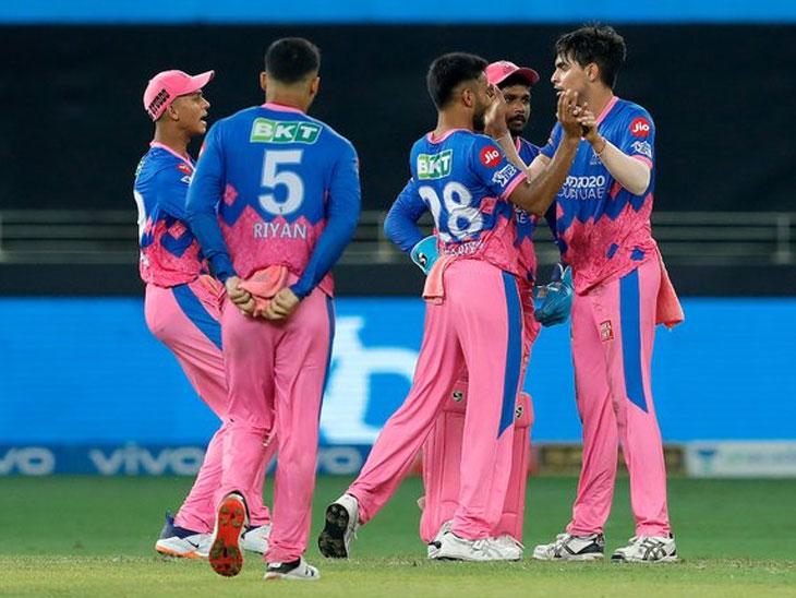 रोमांचक सामन्यात राजस्थान रॉयल्सने पंजाबला 2 धावांनी हरवले, कार्तिक त्यागीने शेवटच्या 4 चेंडूंवर फिरवला सामना|स्पोर्ट्स,Sports - Divya Marathi