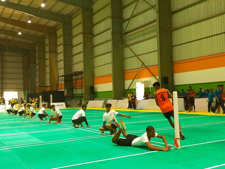 महाराष्ट्राच्या मुलांची 40 व्या कुमार राष्ट्रीय अजिंक्यपद खो-खो स्पर्धेत विजयी सलामी, नागालँडवर 32-6 असा 1 डाव राखून 26 गुणांनी मिळवला विजय|स्पोर्ट्स,Sports - Divya Marathi