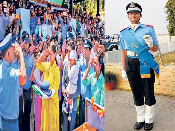 पती शहीद झाल्यावर वीरपत्नी 'विजेता' बनली वीरांगना|नाशिक,Nashik - Divya Marathi