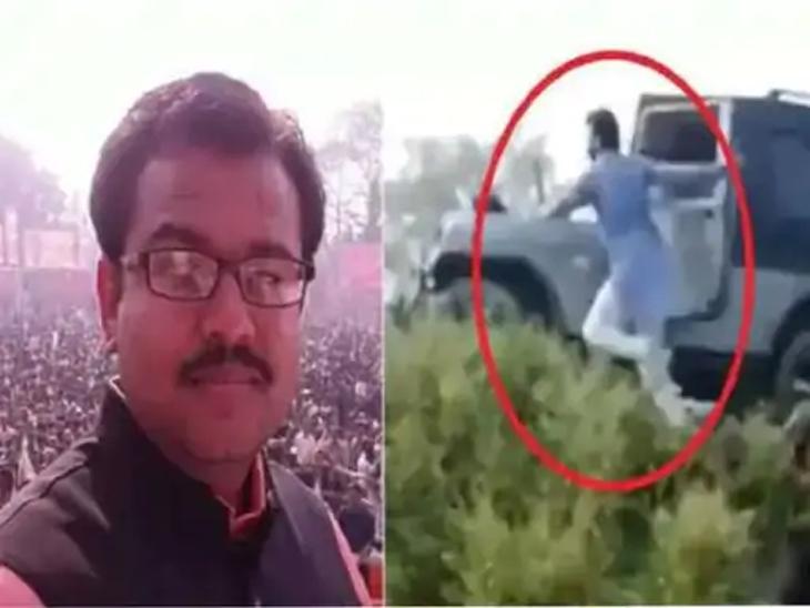 शेतकऱ्यांना जीपखाली तुडवणाऱ्या आरोपी सुमितला अटक; हिंसाचारापासून भूमिगत होता, इतर 3 जणांनाही पकडले|देश,National - Divya Marathi