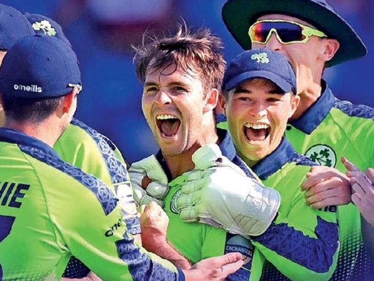 सलग चार चेंडूंत चार विकेट घेणारा कॅफर तिसरा; आयर्लंड टीमचा विजय|टी-20 वर्ल्ड कप,T20 World Cup - Divya Marathi