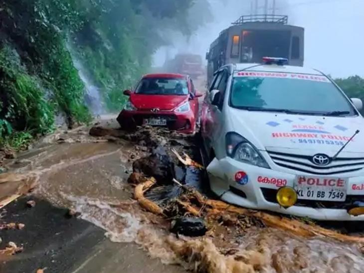 उत्तराखंडात पावसामुळे थांबली चारधाम यात्रा; भाविक अडकले, केरळमध्ये 22 जणांचा मृत्यू|देश,National - Divya Marathi