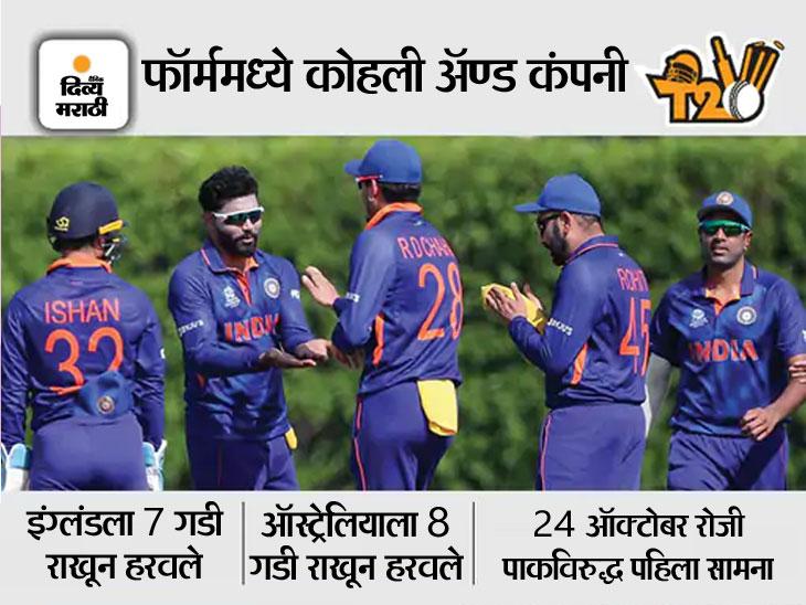 म्हणाला- सराव सामन्यांमधील कामगिरीनंतर भारत वर्ल्ड कप जिंकण्यासाठी हॉट फेव्हरेट; भारताचा पहिलाच सामना पाकिस्तानसोबत|टी-20 वर्ल्ड कप,T20 World Cup - Divya Marathi