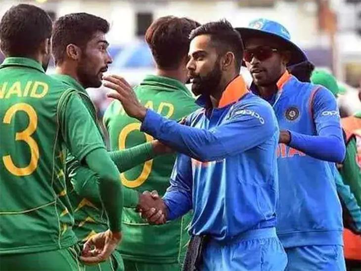 खेळाडूंचे धैर्य वाढवण्यासाठी चॅम्पियन ट्रॉफीची फायनल दाखवत आहे पाकिस्तान|टी-20 वर्ल्ड कप,T20 World Cup - Divya Marathi