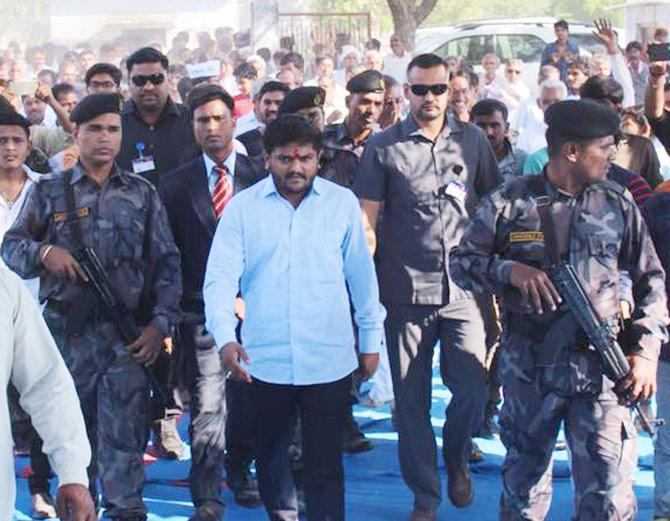 હાર્દિક પટેલને પહેલા જ ગુજરાત સરકારે સુરક્ષા કારણોસર પોલીસની સુરક્ષા આપવા કહ્યું હતું - Divya Bhaskar
