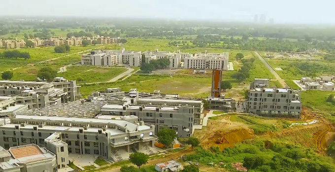 IIT ગાંધીનગર બન્યું દેશનું પહેલું 'ગ્રીન કેમ્પસ', આવો ભવ્ય છે અંદરનો નજારો| - Divya Bhaskar
