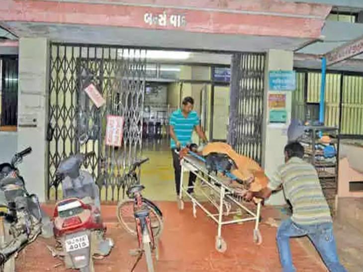 હોસ્પિટલમાં સારવાર દરમિયાન યુવાનનું મોત - Divya Bhaskar