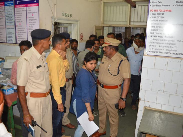 સિહોર પોલીસ મથકમાં દલિત યુવાને કેરોસીન છાંટી કર્યું આત્મવિલોપન, સારવારમાં મોત| - Divya Bhaskar