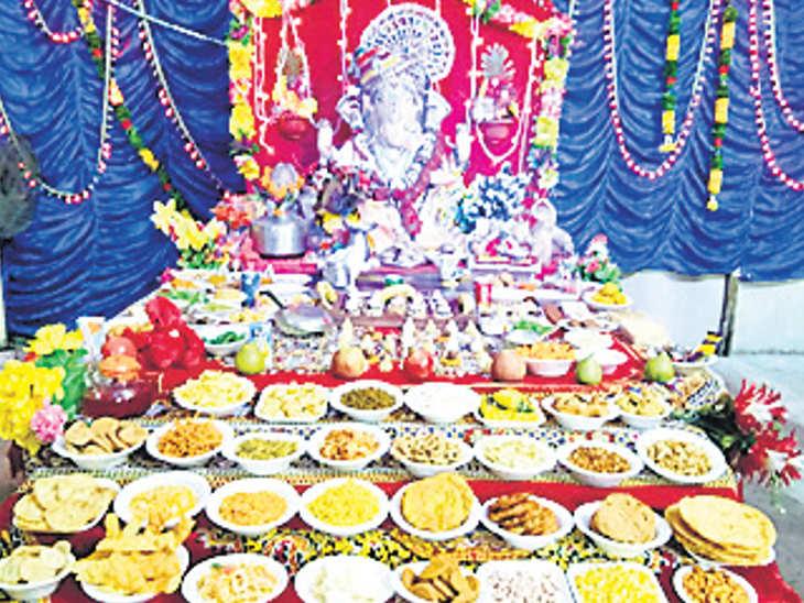 જૂનાગઢમાં 5 વર્ષથી ગણેશ મૂર્તિનું સ્થાપન  થાય છે, વિસર્જન કરાતું નથી|જુનાગઢ,Junagadh - Divya Bhaskar