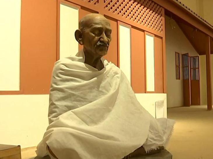 ગાંધીજી ભણ્યા તે સ્કૂલમાં બન્યું મહાત્મા ગાંધી અનુભૂતિ કેન્દ્ર - Divya Bhaskar