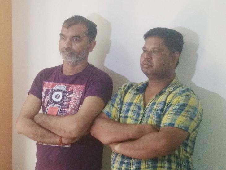 આરોપીને પકડવા ગયેલી પોલીસને 2100 કિલો ગાંજા સાથે ત્રણ શખ્સોને ઝડપી પાડ્યા - Divya Bhaskar