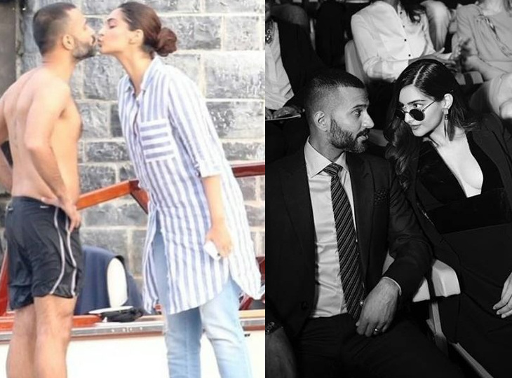 પતિ આનંદ આહુજા સાથે લિપલૉક કરતી જોવા મળી સોનમ કપૂર, તસવીર થઈ વાઈરલ|ઈન્ડિયા,National - Divya Bhaskar