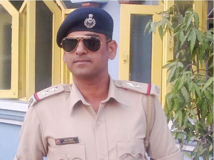 ભત્રીજાને સંબોધીને PSI અનિલે લખ્યું: મોટો થઈને તું પોલીસખાતા સિવાય ગમે તે નોકરી કરજે|ગાંધીનગર,Gandhinagar - Divya Bhaskar
