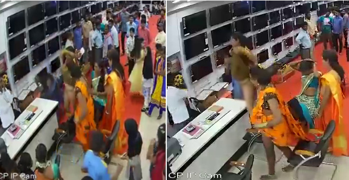 ઇલેક્ટ્રૉનિક્સના શોરૂમમાં ઘૂસીને કિન્નરોએ કપડાં કર્યાં ઊંચાં, ભડકેલા માલિકે કરી દેવાવાળી|ઈન્ડિયા,National - Divya Bhaskar