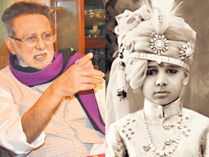 રાજકોટના રાજવી મનોહરસિંહ જાડેજાને આ બાબતોએ 'દાદા'બનાવ્યા હતા  - Divya Bhaskar