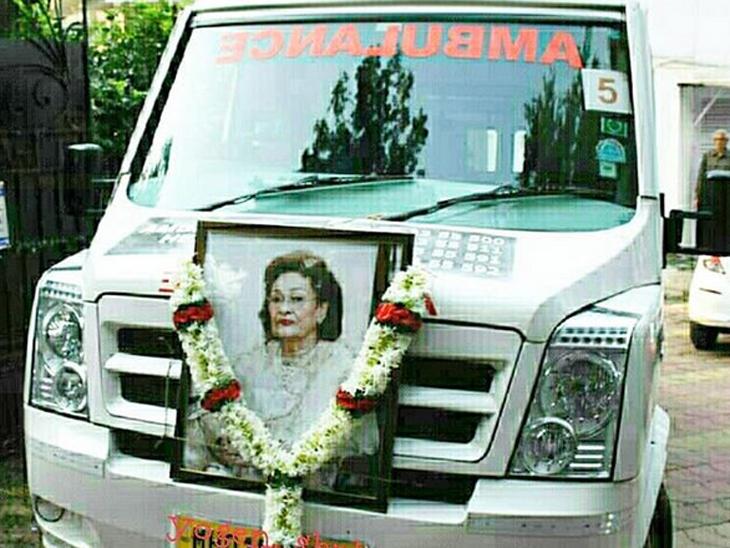રાજકપૂરની પત્ની તેમજ રિષી કપૂરની માતા કૃષ્ણા રાજ કપૂરનું નિધન, શ્વાસની બીમારીની હતી સમસ્યા| - Divya Bhaskar