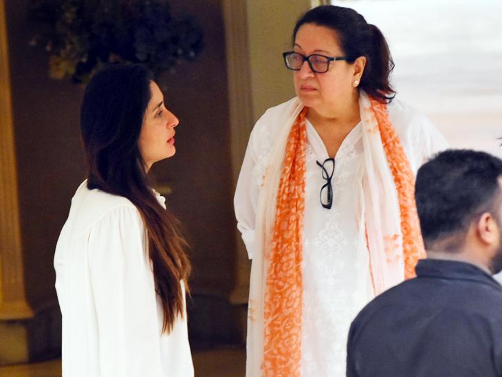બીજા દિવસે 'કૃષ્ણા રાજ' બંગલો આવ્યા બોલિવૂડ સેલેબ્સ, કપૂર પરિવારને આપી સાંત્વના| - Divya Bhaskar