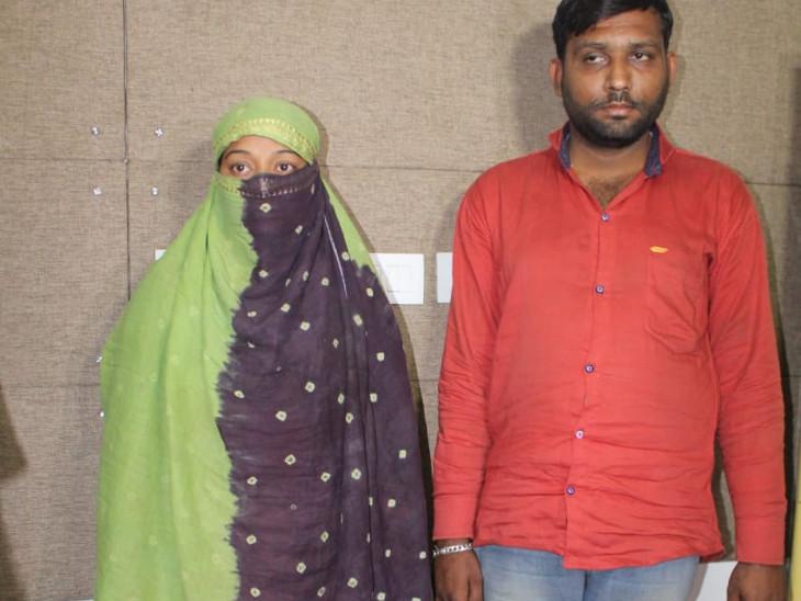પોલીસે મહિલા સહિત બેની ધરપકડ કરી - Divya Bhaskar