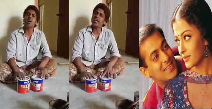 કલર કરનાર કારીગરની અનોખી ટેલેન્ટ, બોલિવૂડનું સૌથી દર્દનાક સોંગ ગાયું, છવાઈ ગયો સોશિયલ મીડિયામાં|ઈન્ડિયા,National - Divya Bhaskar
