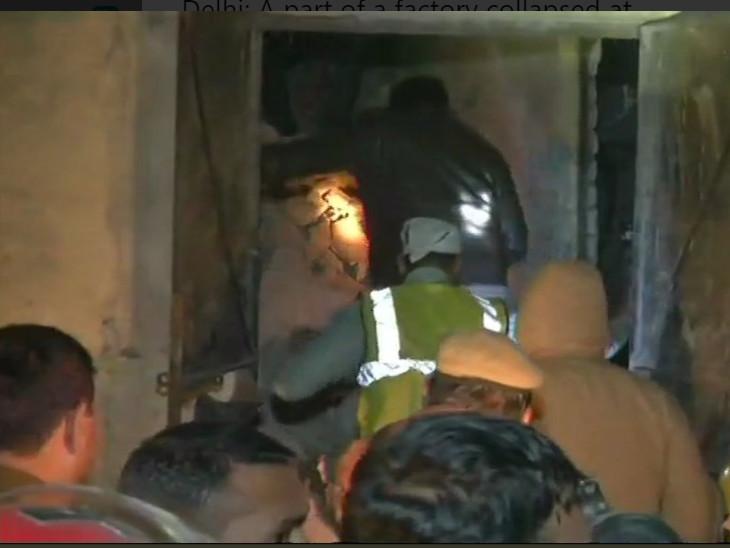 દિલ્હીના મોતીનગરમાં પંખા બનાવતી કંપનીમાં ઘડાકો થતાં 6નાં મોત, રેસ્ક્યુ ઓપરેશ શરૂ ઈન્ડિયા,National - Divya Bhaskar