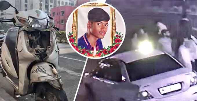 નશામાં ધૂત ડ્રાઈવરે પોલીસથી બચવા માટે SUV ડિવાઈડર કુદાવી સામે આવતાં વિદ્યાર્થી પર ચઢાવી, માસૂમનું ઘટનાસ્થળે જ મોત| - Divya Bhaskar