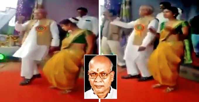 'લડકી આંખ મારે' ગીત પર વિદ્યાર્થિનીઓ સાથે સાંસદે લગાવ્યા ઠુંમકા, 68 વર્ષની ઉંમરે પણ કર્યા અવનવા નખરાં  - Divya Bhaskar