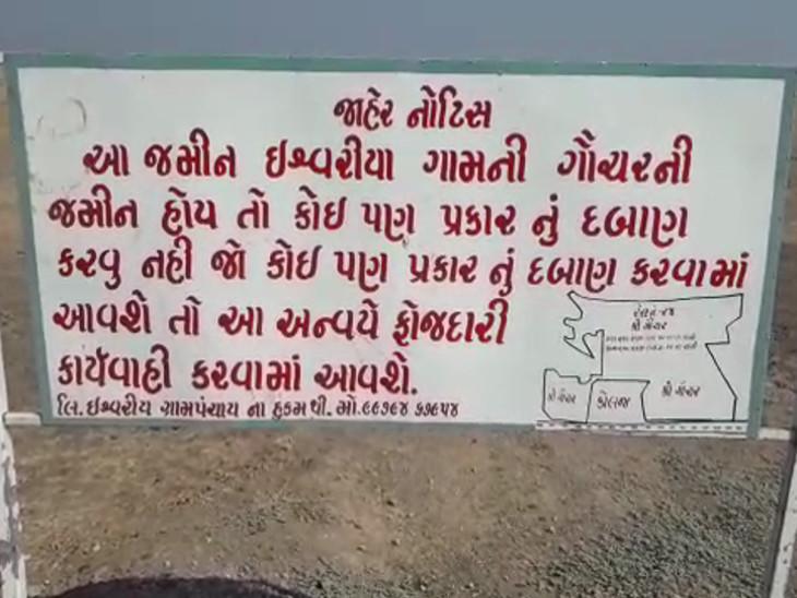 ગૌચરની 10 એકર જમીન રાજકોટ જિલ્લા ભાજપ યુવા પ્રમુખે પોતાના ટ્રસ્ટના નામે કરાવ્યાનો આક્ષેપ| - Divya Bhaskar