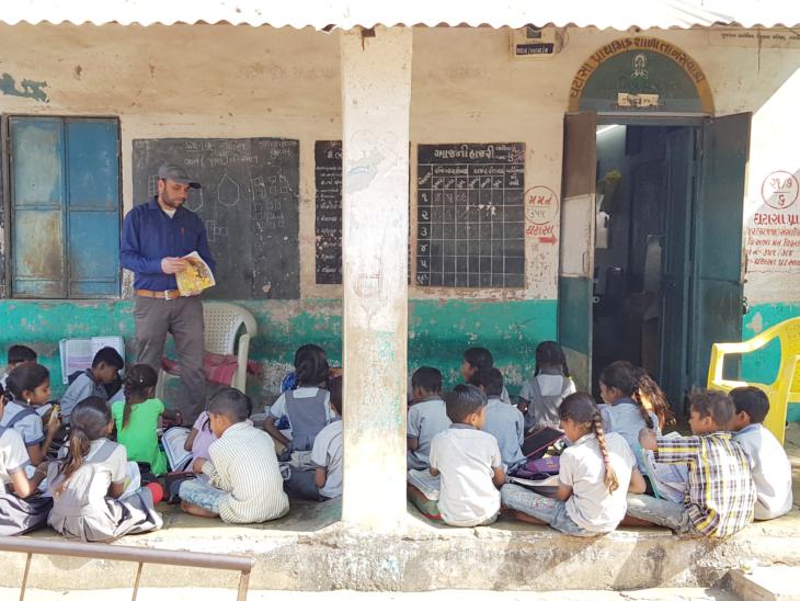ઘટાશા પ્રાથમિક શાળા - Divya Bhaskar