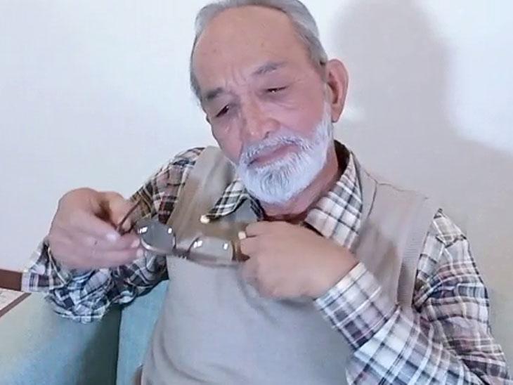 એન્કાઉન્ટરમાં માર્યા ગયેલા સમીર ખાન પઠાણના પિતા સરફરાઝ ખાનની તસવીર - Divya Bhaskar