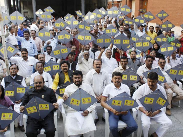 અમદાવાદમાં કોંગ્રેસે વીએસ બચાવોના 10 હજાર પતંગ ખરીદ્યા, 48 વોર્ડમાં ચગાવાશે| - Divya Bhaskar