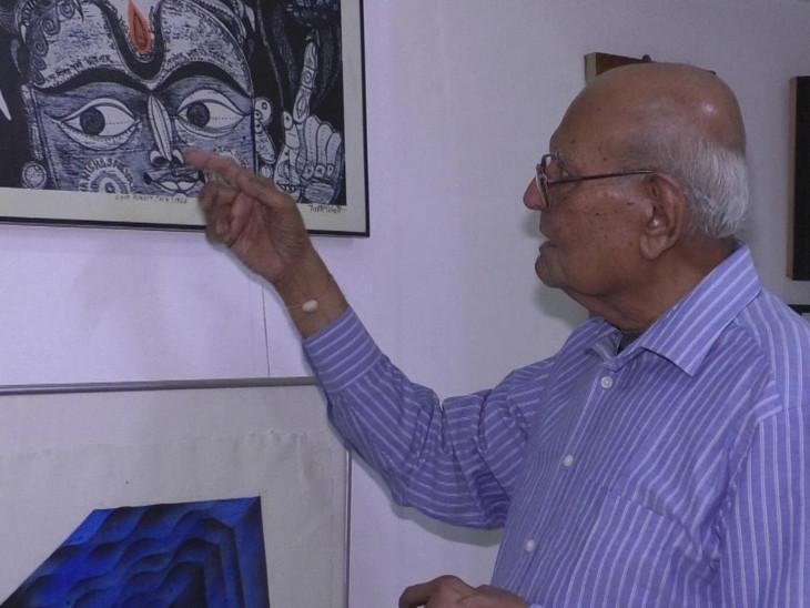 લલિત કળામાં ઉત્કૃષ્ટ યોગદાન બદલ વડોદરાના આર્ટીસ્ટ જ્યોતિ ભટ્ટને રાષ્ટ્રપતિના હસ્તે પદ્મ શ્રી એનાયત| - Divya Bhaskar