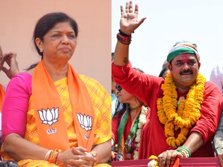 વડોદરા બેઠક પર પાંચમી વખત મહિલા અને પુરુષ ઉમેદવાર વચ્ચે જંગ થશે  - Divya Bhaskar