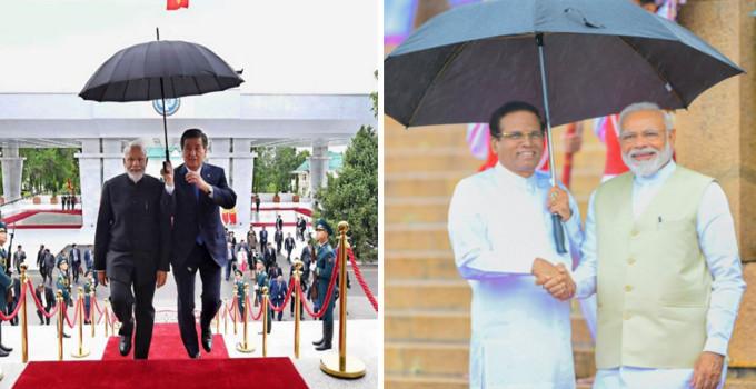 PM મોદીનો ઠાઠ બિશ્કેકમાં પણ દેખાયો, વરસાદ આવતાં કિર્ગિસ્તાની રાષ્ટ્રપતિએ ખુદ છત્રી પકડી|વર્લ્ડ,International - Divya Bhaskar