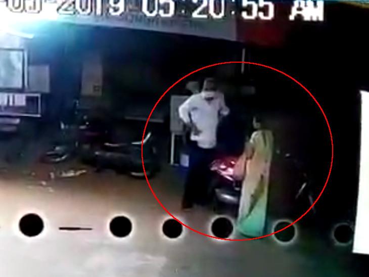 પતિ પત્નીએ એસીની ચોરી કરતાં સીસીટીવીના આધારે પોલીસે તપાસ હાથ ધરી - Divya Bhaskar