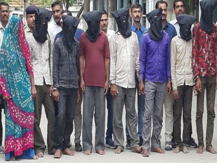 લૂંટ માટે 7-7 હત્યાની ઘટનાને અંજામ આપનાર લેડી ડોન સહિત 9 લોકોની ગેંગ ઝડપાઇ|ભાવનગર,Bhavnagar - Divya Bhaskar